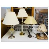 4 Lamps, 1 is all real birch