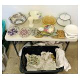 Kitchen items, Lenox, Hot Pads, etc
