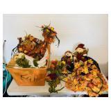 Fall lot, vines, leaves, Flowers etc