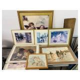 8 Framed Prints