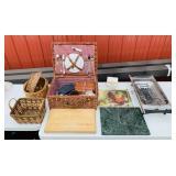Picnic Kit, Cutting Boards, Baskets