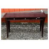 "Sofa Table w/ 3 Drawers, 48"" w x 14"" d x  30""h"