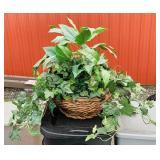 Big Artificial Plant in Nice Basket