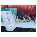 Tote of country decorations