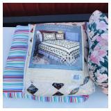 2 pillows, 1 Full/Queen Quilt Set
