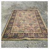 Olive Rug-no stains  5 ft x 8 ft
