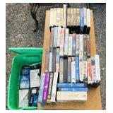 Tote of VCR tapes, -Big Daddy -Dark Shadows
