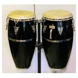 Latin Percussion LP Tomba /  Conga Drums on Stand
