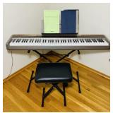 Casio PX-100 Electric Piano W/Seat and Stand,