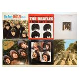 "6 Beatles 12"" Records"
