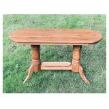 Solid Oak Hallway/Sofa Table, very nice