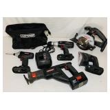 Craftsman 19.2 volt Set, Charger, 1 battery,