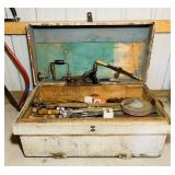 Old Carpenters Tool Chest, Loaded with  Tools