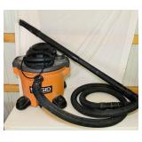 Rigid12 Gallon, 5.0 Hp Shop Vac, extra long hose,