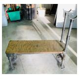 Weight Bench Made from Galvanized Threaded Pipe,