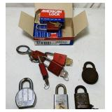 8 American Lock, Lock Out Pad Lock