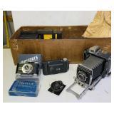 Busch Pressman Vintage Camera, Argus Candid