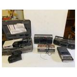 Electronics Lot, 3 Radios, Tape Recorder