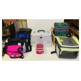 Coolers, Bags, Makeup Cases, Picnic Baskets