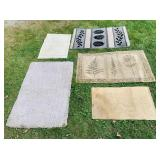 5 Medium size Rugs
