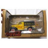 Coca Cola 1947 Canopy Delivery Van Bank