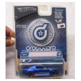 Hot Wheels Ford Mustang GTR Blue 2005 1:50 scale