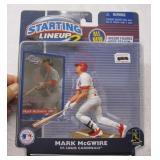 Starting LIneup Mark McGwire 2001