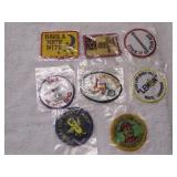 Lot of 8 New  Patches