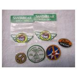 Lot of 6 Mini Patches