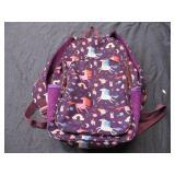 Unicorn Back Pack,  Purple and Pink