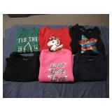 6 Toddler Girl Tops Size 5T