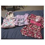 3 Toddler Girl Tops, Dress size 4T