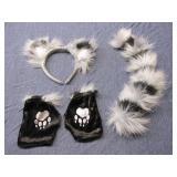 Halloween Dress Accessories Cat Costume
