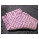 Purple Heart Fleece Blanket