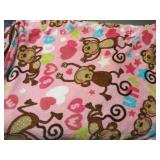 Pink Fleece Childrens Blanket