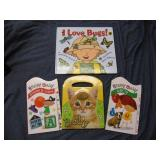 Lot of 4 Baby Books