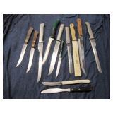 Lot of 12 Knives