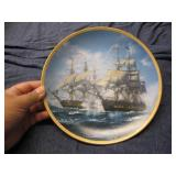 """Hamilton Collection """"Call to Adventure"""" Plate"""