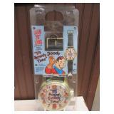 Howdy Doody Time Wristwatch, Clock 1987 SEALED