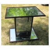 Mirror/Glass End Table/ Coffee Table