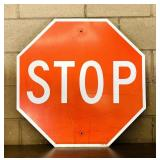 """STOP Sign, Real, 30"""" x 30"""""""