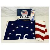 NOS 76  Defiance American Flag, 3 ft x 5 ft,
