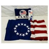NOS American Flag, Defiance 3 ft x 5 ft,
