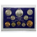 Farewell to the £.S.D System Coin Set
