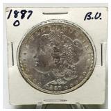 1887o Morgan Silver Dollar Coin