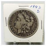 1893s Morgan Solver Dollar