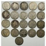 (21) Liberty Nickels