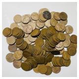 (148)  Wheat Pennies, 1950-1959