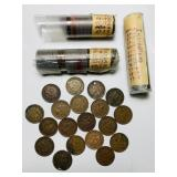 Indian Head Pennies, Should be 142 if labels are