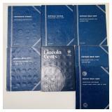 (7) Partial Coin Collection Books